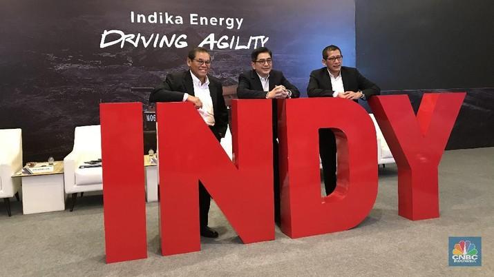 RUPS PT Indika Energy Tbk  (CNBC Indonesia/Anastasia Arvirianty)