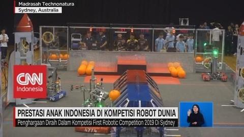 VIDEO: Prestasi Anak Indonesia di Kompetisi Robot Dunia