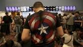Demam 'Avengers: Endgame' ini terjadi karena film tersebut adalah babak final dari fase empat dan sedekade Marvel Cinematic Universe. (REUTERS/David Mercado)