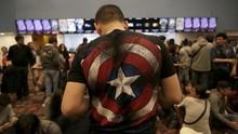 FOTO: Demam 'Avengers: Endgame' di Pegunungan Andes