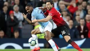 Babak Pertama Man United vs Man City Tanpa Gol