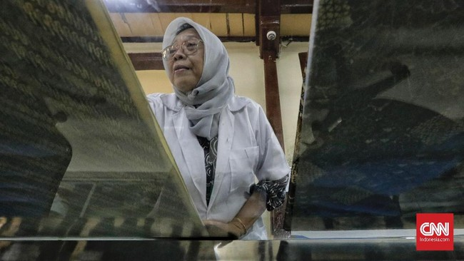 Pengaruh lingkungan merupakan penyebab utamanya terjadinya kerusakan tekstil. (CNN Indonesia/Adhi Wicaksono)