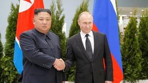 Jumpa Kim Jong-un, Putin Dukung Perdamaian Semenanjung Korea
