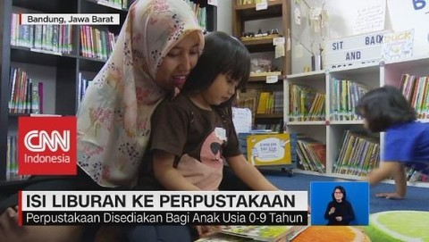 VIDEO: Isi Liburan Anak Ke Perpustakaan