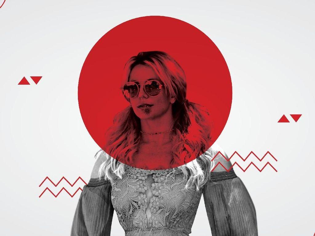 Infografis: Pasang Surut Kehidupan Britney Spears
