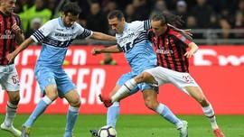 AC Milan Disingkirkan Lazio dari Coppa Italia