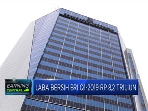Laba Bersih BRI Q1 2019 Rp 8,2 Triliun