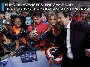 Avengers: Endgame, Raup Untung Rp 4,2 T di Awal Tayang