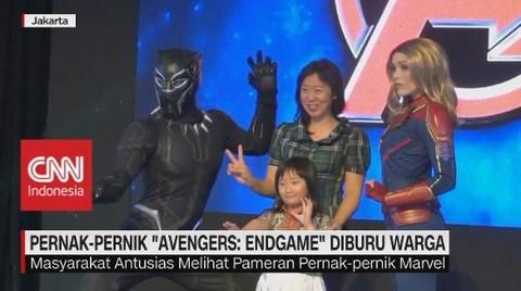 Demam Avenger, Pernak Pernik Marvel Diburu