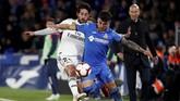 Real Madrid tampil dengan kekuatan penuh, termasuk memainkan Isco di lini tengah pada laga lanjutan La Liga Spanyol 2018/2019, Kamis (25/4) malam waktu setempat. (REUTERS/Sergio Perez)
