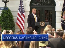 Negosiasi Dagang AS-China Berlanjut