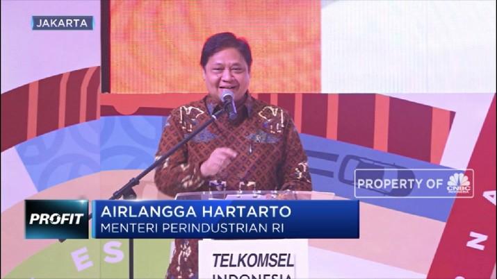 Menteri Perindustrian Airlangga Hartarto menjelaskan kenapa harus ada kebijakan validasi International Mobile Equipment Identity (IMEI) pada 17 Agustus 2019.