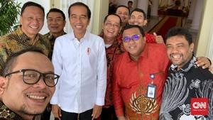 Jokowi Bertemu Said Iqbal Cs Bahas Masalah Perburuhan