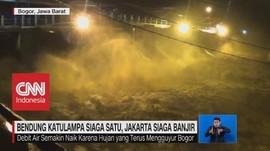 VIDEO: Bendung Katulampa Siaga 1, Jakarta Siaga Banjir