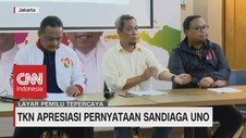 VIDEO: TKN Apresiasi Pernyataan Sandiaga Uno