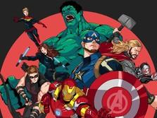 Ini Kekayaan 'Iron Man' Sampai 'Captain America'