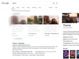 Hasil Pencarian Google Lenyap dalam Jentikan Jari Thanos