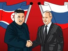 Kim Jong Un & Putin Bertemu, Cinta Lama Bersemi Kembali