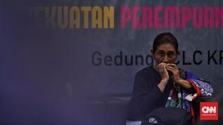 Susi Pasrah Jika Tak Dipilih Jokowi Jadi Menteri Lagi