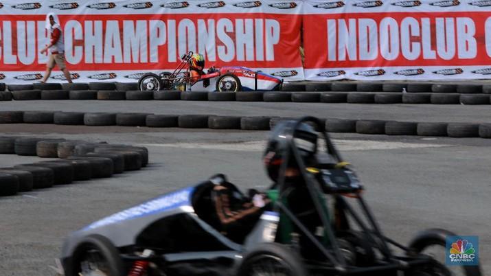 Mirip Formula 1, Serunya Adu Balap Mobil Listrik di IIMS 2019