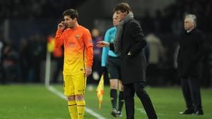 Rahasia Messi Enam Hari Sebelum Vilanova Meninggal