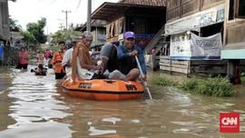 Banjir Terjang Sumsel, Puluhan Rumah Terendam