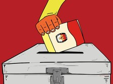 Real Count 19.00: Jokowi-Maruf 56,2% dan Prabowo-Sandi 43,7%