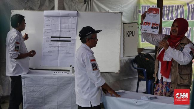 Real Count KPU 51 Persen: Jokowi 56,18, Prabowo 43,82