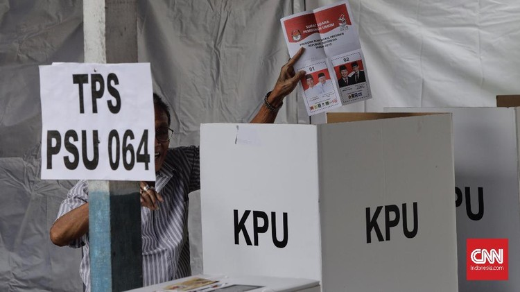 FOTO : Pesta Demokrasi Ulang di Jakarta
