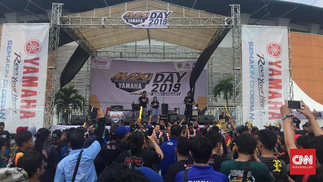 <i>Bikers</i> Ramaikan Maxi Day Yamaha