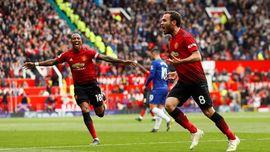 De Gea Blunder, Man United vs Chelsea Imbang 1-1 di Babak I