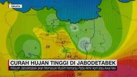 VIDEO: Waspada Curah Hujan Tinggi di Jabodetabek