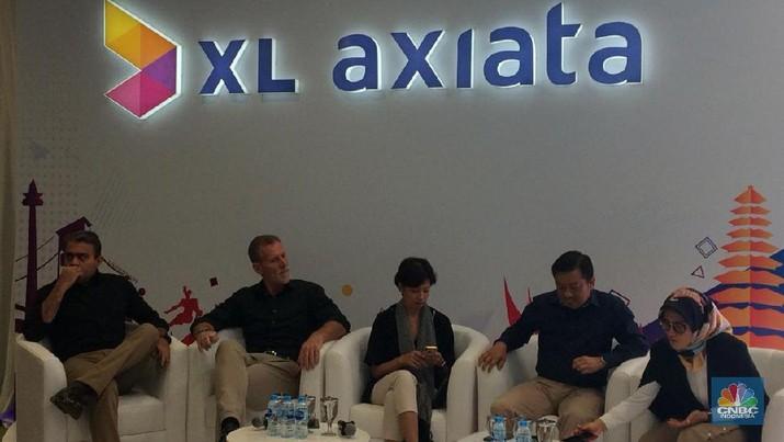 RUPS Tahunan XL Axiata (CNBC Indonesia/Syahrizal Sidiq)