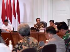 Di Depan Fahri Cs, Jokowi Tegaskan Serius Pindahkan Ibu Kota
