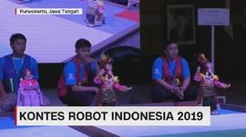 VIDEO: Kontes Robot Indonesia Antar Mahasiswa 2019