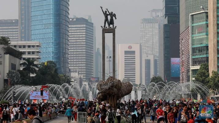 Biaya itu pun sebenarnya digunakan untuk proses pemindahan ibu kota yang diperkirakan berlangsung selama lima hingga 10 tahun.