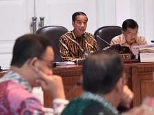 Saat Jokowi Pimpin Rapat Perpindahan Ibu Kota