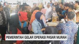 VIDEO: Pasar Murah Jelang Puasa Diserbu Warga Cirebon