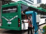 Siap-siap, Bus Listrik TransJakarta Bakal Layani 2 Rute Ini