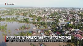 VIDEO: 2 Desa Terisolir Akibat Banjir dan Longsor di Bengkulu