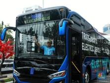Wow! TransJakarta Siap Luncurkan Armada Bus Listrik