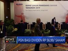 PGN bagi Dividen Rp 56,99 per Saham