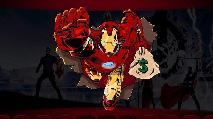 Selangkah lagi bagi Avengers: Endgame untuk jadi film terlaris sepanjang masa.