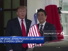 Jamu Trump, PM Jepang Hidangkan Es Krim Hingga Daging Mahal
