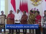 Jokowi akan Revisi PP Pengupahan