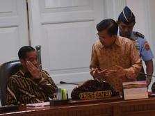 Soal Rencana Jokowi Reshuffle Kabinet Kerja, Ini Tanggapan JK