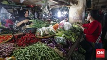 Awal Pekan, Rata-rata Harga Cabai Turun Rp8.000 per Kg