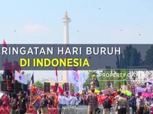 Begini Sejarah Peringatan Hari Buruh di Indonesia