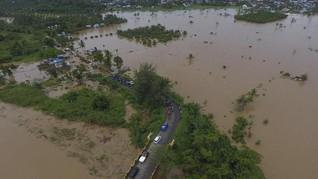 BNPB: 16 Ribu Jiwa Terdampak Banjir di Kutai Kartanegara
