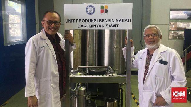 Cerita Dosen ITB Rintis Bisnis Teknologi Pemroses Biofuel